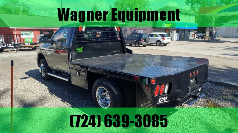 """CM RD Steel Flatbed Cab and Chassis 60"""" CA (Chevy/GMC)"""