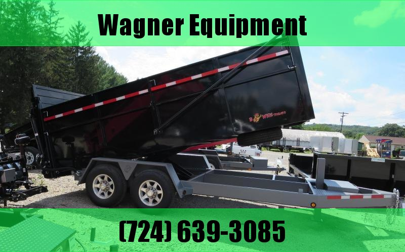 "B-Wise DU16-15 82""x16' Ultimate Dump Trailer 15K GVWR in Ashburn, VA"