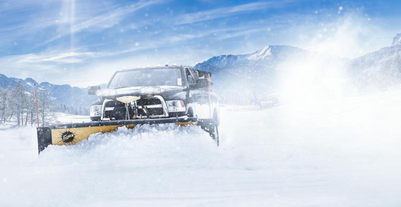 Fisher 8' HD2 MS Snow Plow