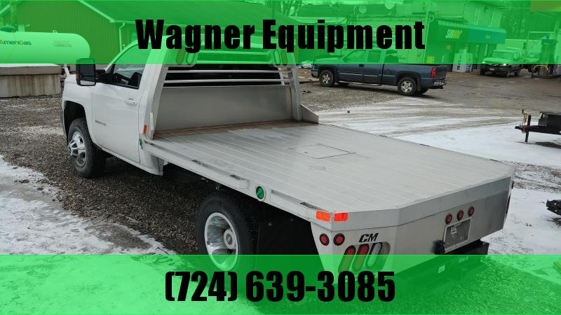 "CM RD Aluminum Flatbed Cab and Chassis 60"" CA"