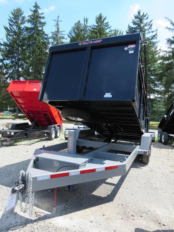 "RED B-Wise DU14-15 82""x14' Ultimate Dump Trailer 15K GVWR"