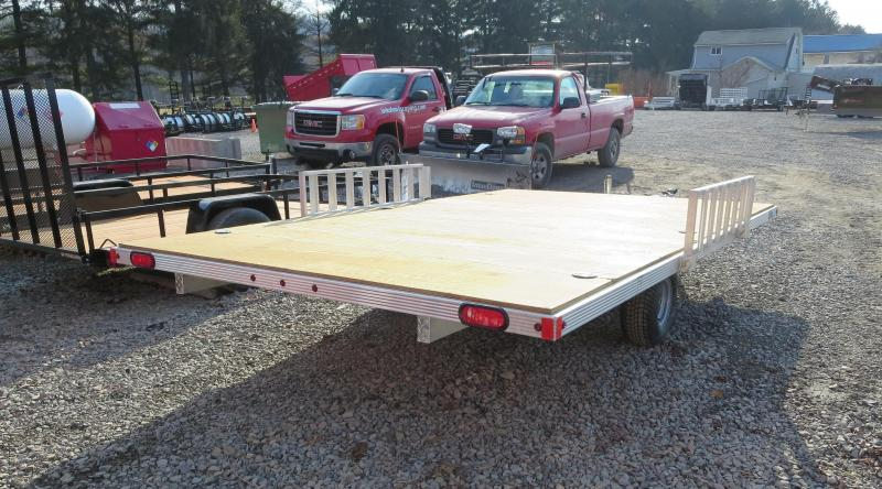 Aluminum A98X14R 3-Place ATV Trailer