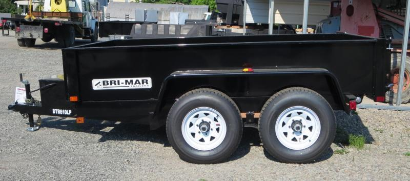 "Bri-Mar DTR610LP-10-D 72""x10' Dump Trailer 9.9K GVWR in Ashburn, VA"