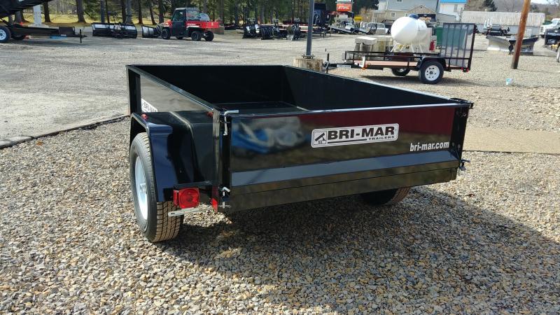 "Bri-Mar DTR508LP-5-D 60""x8' Dump Trailer 5K GVWR"