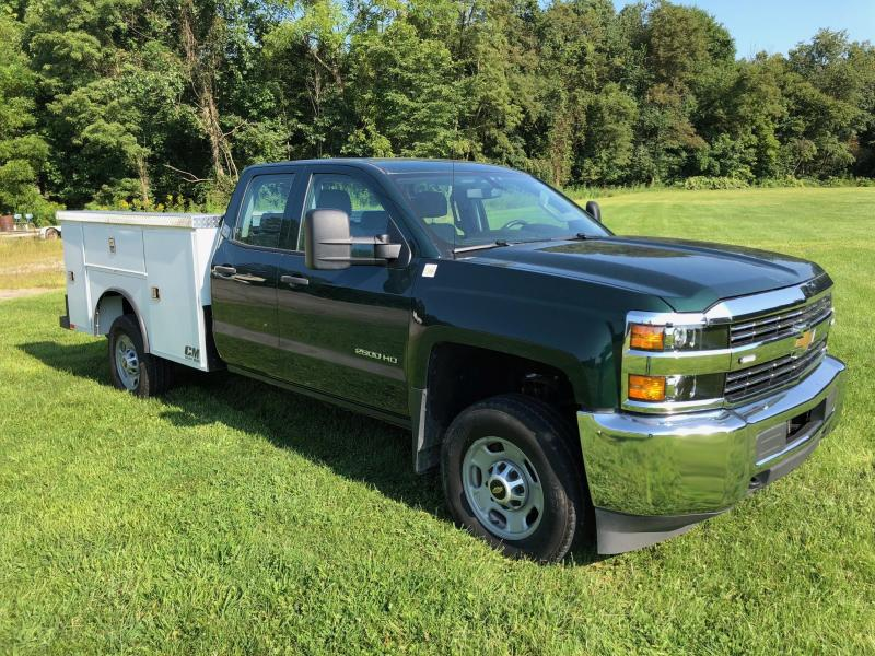 2017 Chevrolet 2500HD with new CMSB Service Body 4WD Truck