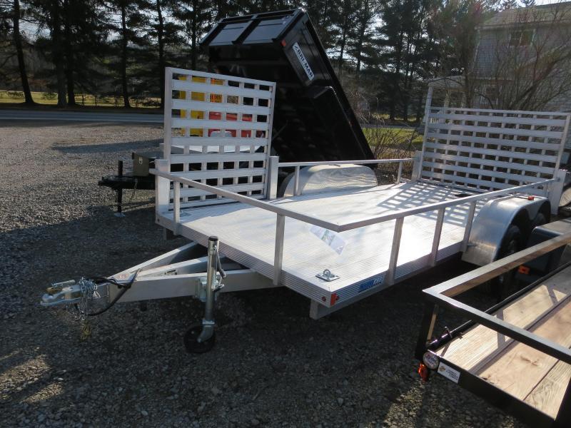 ULS6.5X16-A 16' Deck Length Landscape Utility Trailer (Extruded Aluminum Decking)