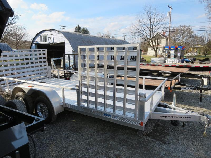 ULS6.5X16-A 16' Deck Length Landscape Utility Trailer (Extruded Aluminum Decking)
