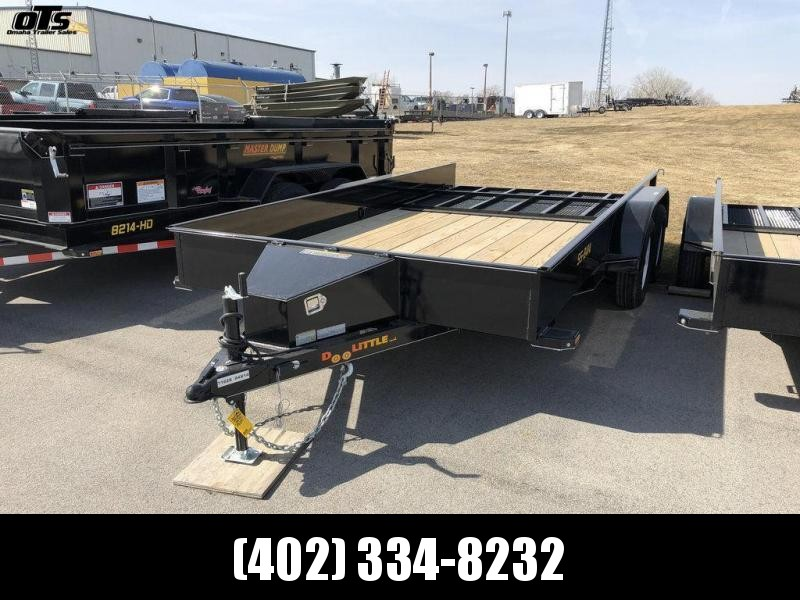 2018 Doolittle 84 X 14 Utility Trailer