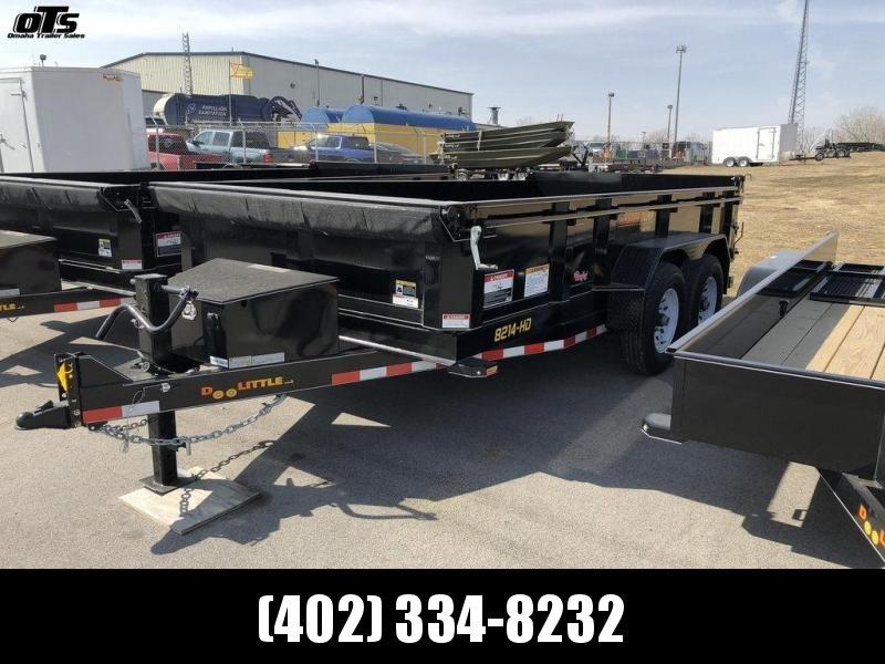 2018 Doolittle 82 X 14 Scissor Dump Trailer in Ashburn, VA