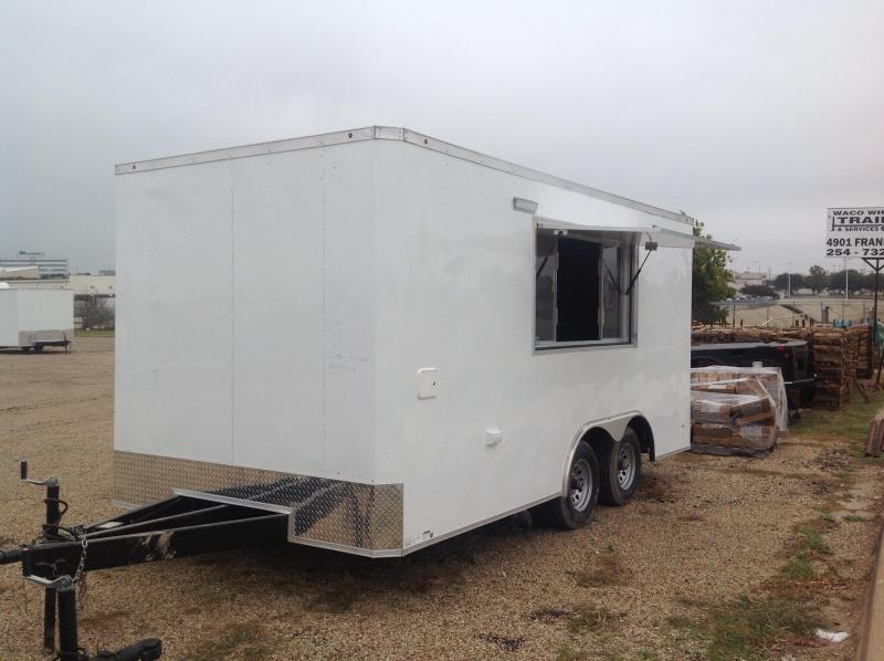 2018 Salvation Trailers 8.5x16 Vending / Concession Trailer
