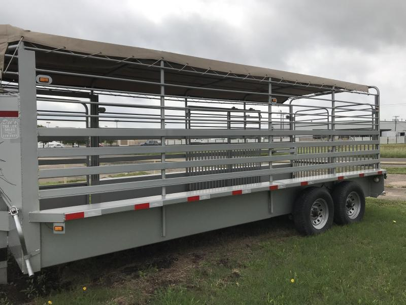 2018 Salvation 20ft livestock Equipment Trailer in Ashburn, VA