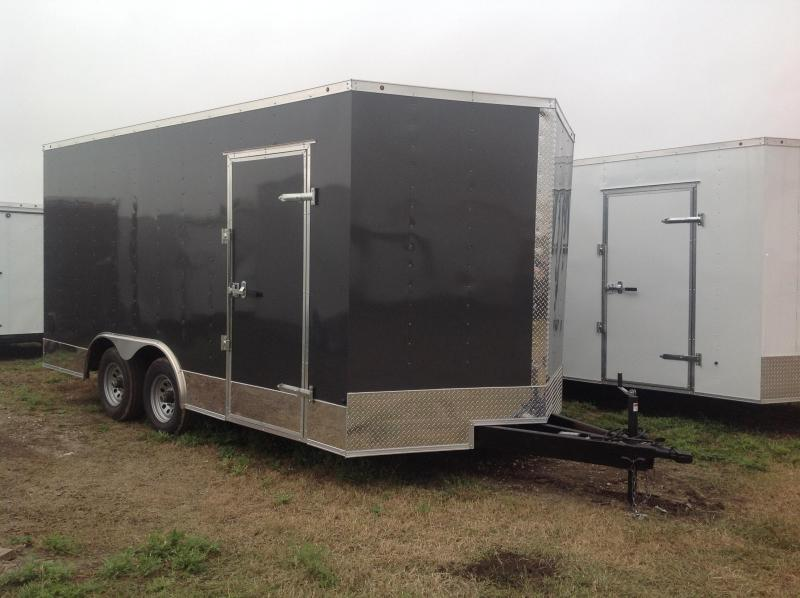 2018 Salvation Trailers 8.5x16 Enclosed Cargo Trailer