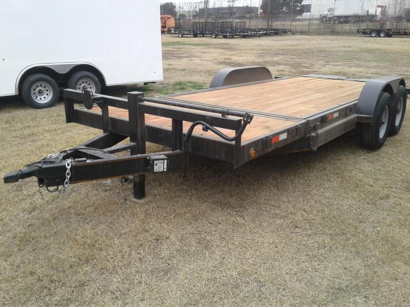 2018 83x20TA Tilt Deck Trailer in Ashburn, VA