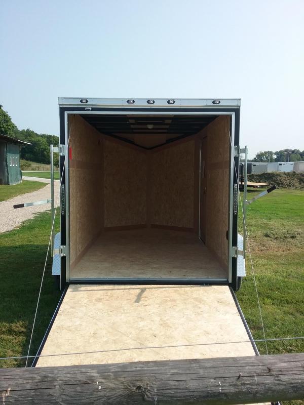 6X10 Stealth Titan Enclosed Cargo Trailer