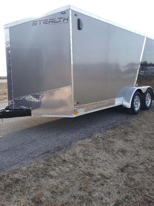 2019 Stealth 7x16 Titan Enclosed Cargo Trailer