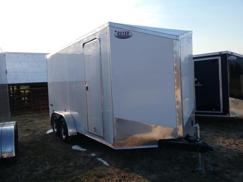 Impact 7X16 Plus 12 Inches Tremor Enclosed Cargo Trailer