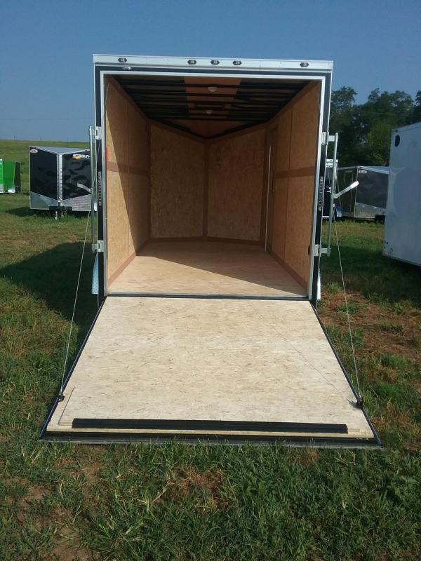 "7X14 (+12"" Extra Interior Height) Stealth Titan Enclosed Trailer"