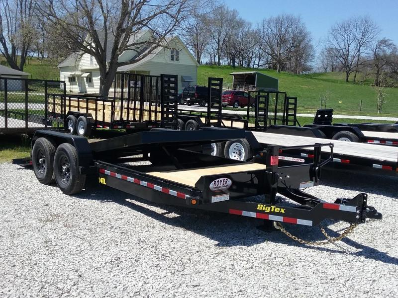 14TL 20 Foot Tilt Trailer