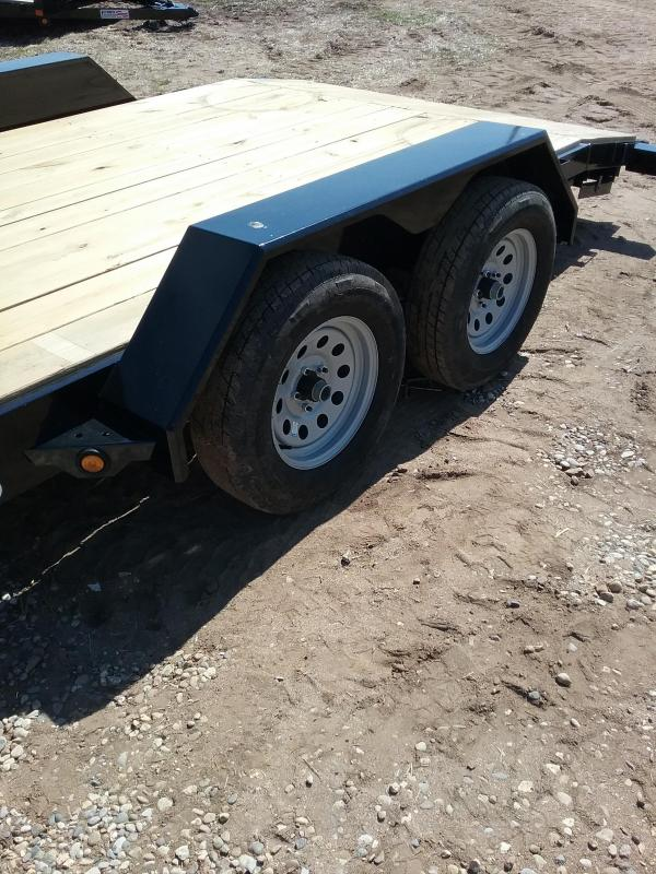 """82""""x18' Liberty Car Hauler with 5' Slide In Ramps"""