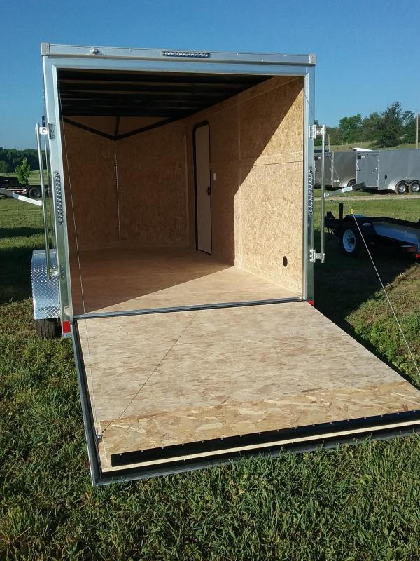 "7X14 (+6"" Extra Interior Height) Impact Tremor Enclosed Cargo Trailer"