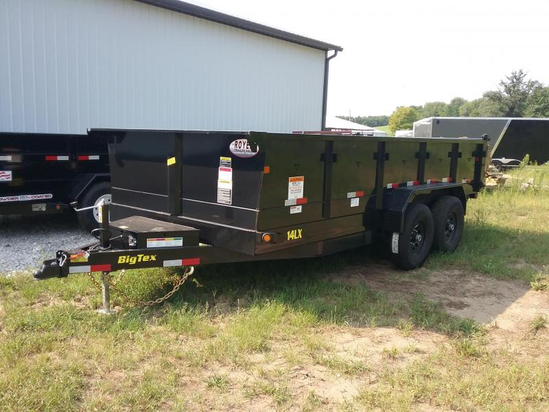 "83""X16' Big Tex Dump Trailer"