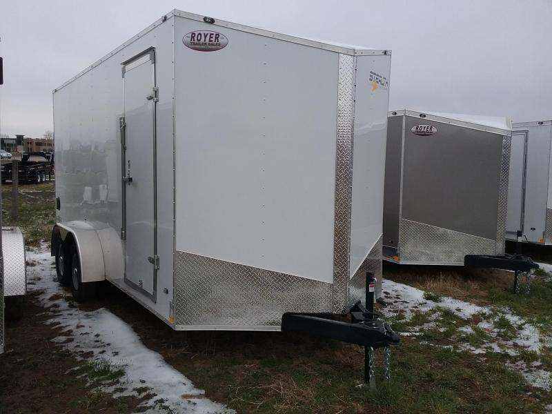 Stealth 7X16 Plus 12 Inches Stealth Mustang Enclosed Cargo Trailer