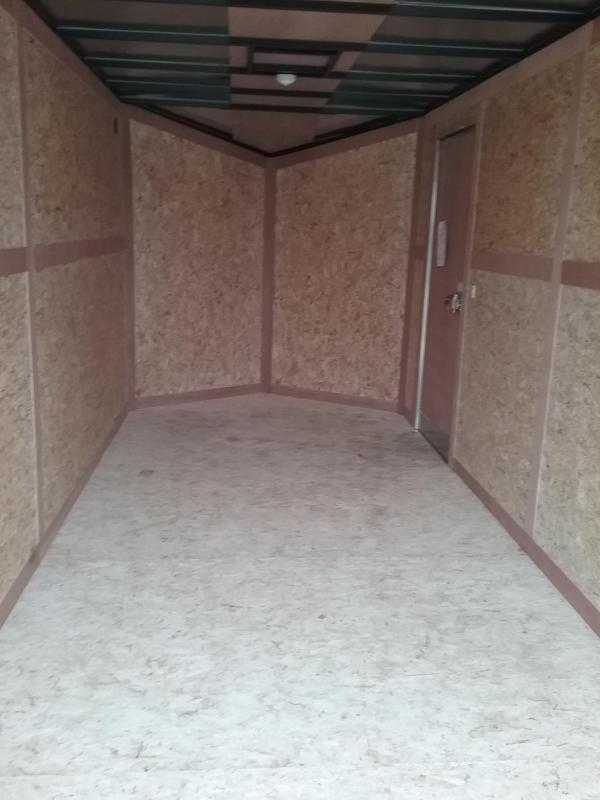 """7x16 2019 Stealth Titan (+12"""" Additional Height) Enclosed Cargo Trailer"""