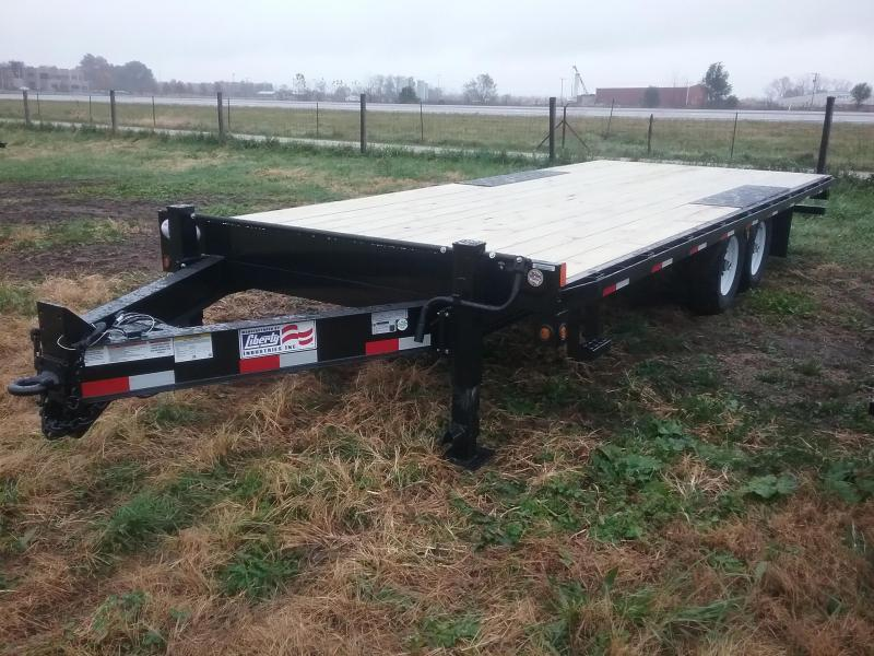 2019 Liberty 20' Deckover Flatbed Trailer
