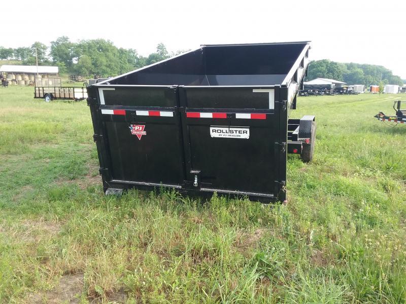 PJ Trailers 14 Foot Rollster Roll Off Dump Trailer