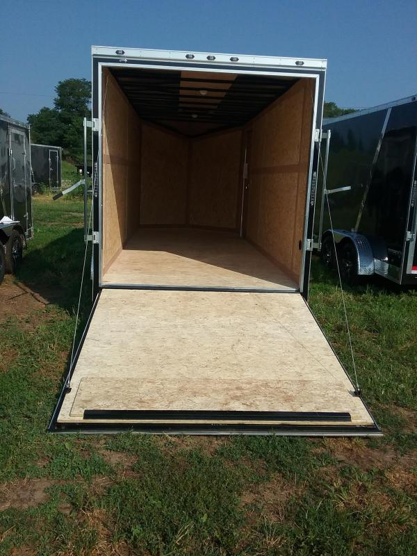 "7X18 (+12"" Extra Interior Height) Stealth Titan Enclosed Trailer"