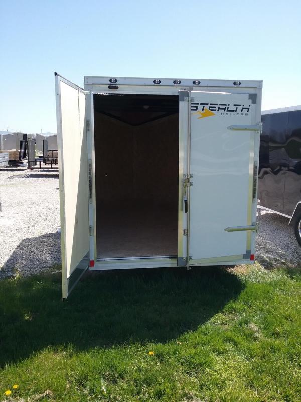 6X12 Stealth Titan Enclosed Cargo Trailer