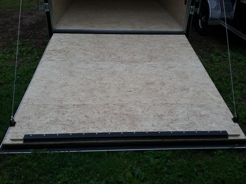 """7x16 (+12"""" Additional Height) Stealth Titan Enclosed Trailer *HAIL DAMAGED-CALL FOR DISCOUNT PRICING*"""