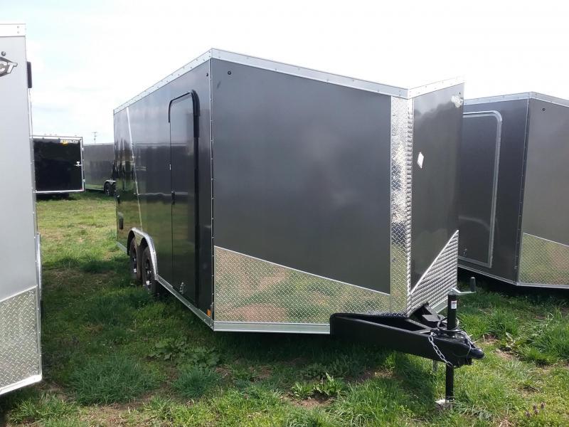 8.5X16 Impact Shockwave Enclosed Cargo Trailer