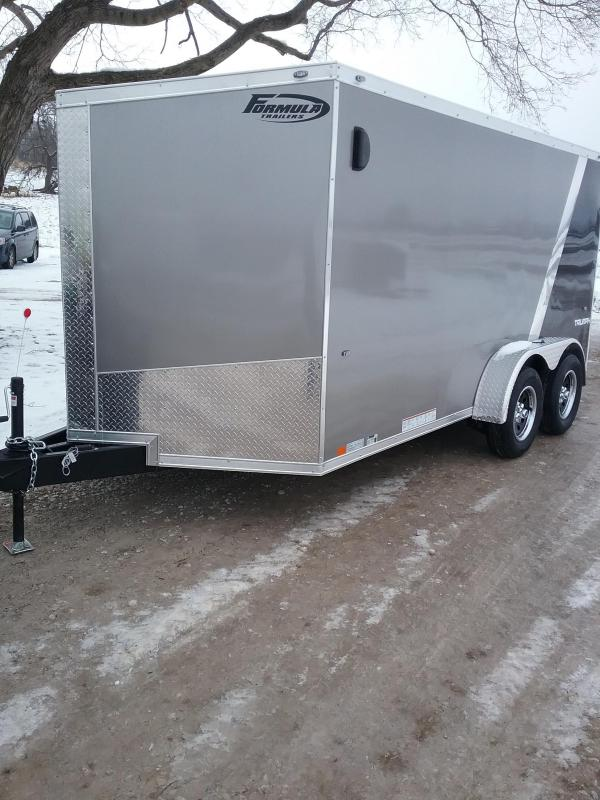 2019 Formula Triumph 7x14 Enclosed Cargo Trailer