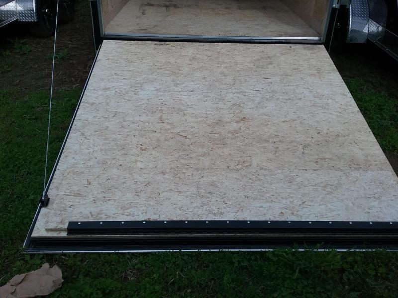 """7x18 (+12"""" Additional Height) Stealth Titan Enclosed Trailer *HAIL DAMAGED-CALL FOR DISCOUNT PRICING*"""