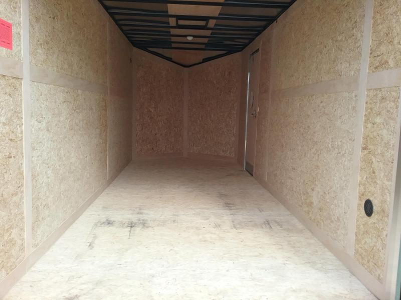"7x18 (+12"" Additional Height) Stealth Titan Enclosed Trailer *HAIL DAMAGED-CALL FOR DISCOUNT PRICING*"