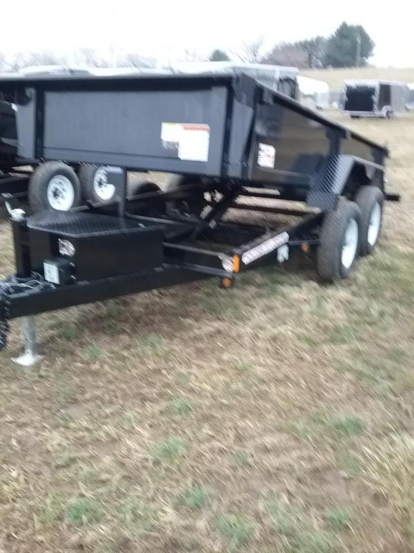 "10K 72""x10' Liberty Low Pro Dump Trailer with Combo Gate"