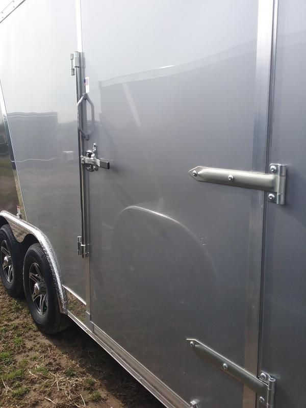 8.5x16 Stealth Titan Enclosed Cargo Trailer with 5200# Axles and Beavertail