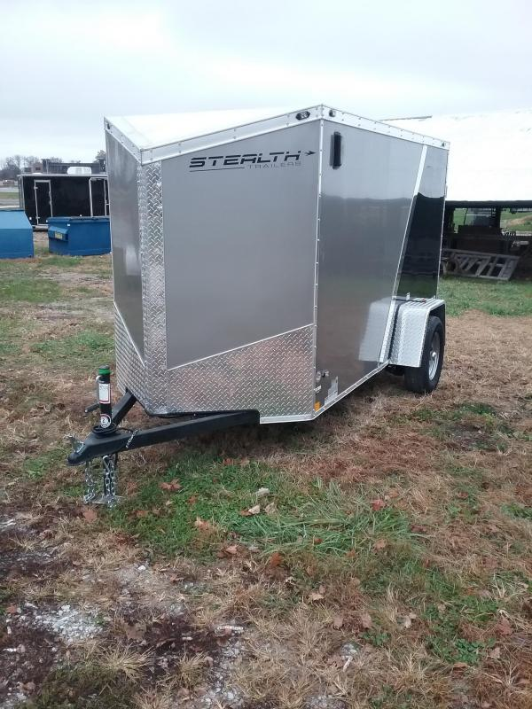 "2019 Stealth Trailers TITAN 5x10 (+6"" Additional Height) Enclosed Cargo Trailer"