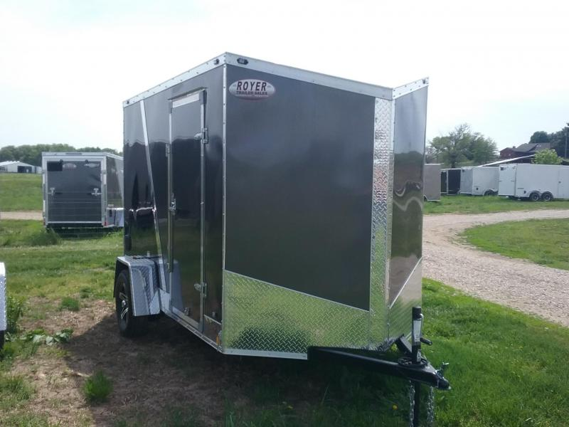 "6X10 (+6"" Extra Interior Height) Stealth Titan Enclosed Trailer"