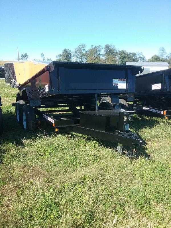 6X10 Liberty Low Pro Dump Trailer