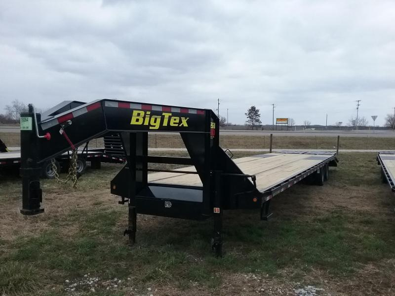 Big Tex 22GN 35 Plus 5 Flatbed Trailer