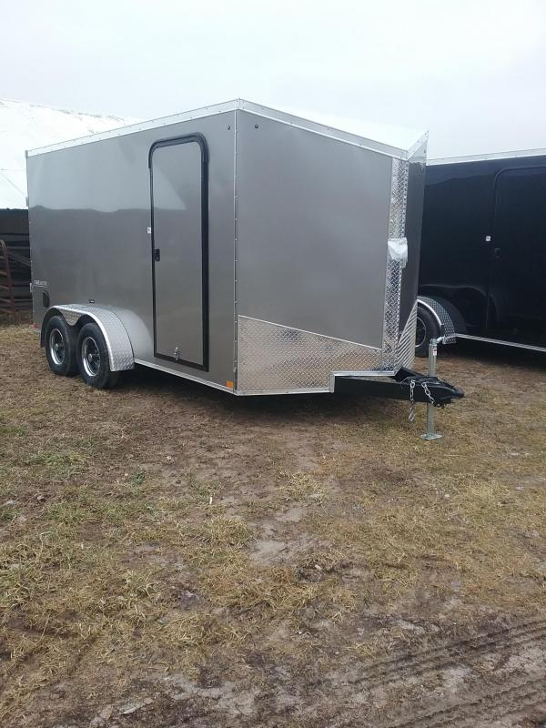 "7x14 (+6"" Additional Height) Impact Tremor Enclosed Cargo Trailer"
