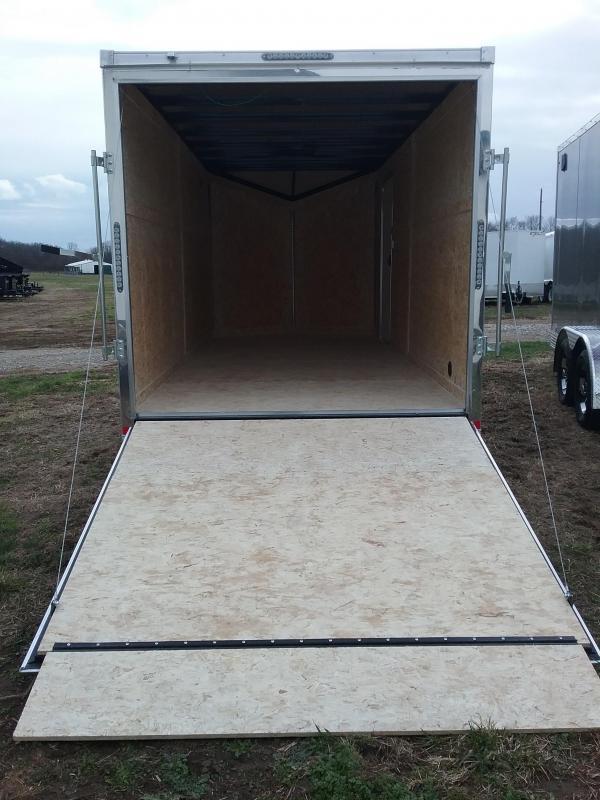 Impact 7X16 Plus 6 Inches Tremor Enclosed Cargo Trailer