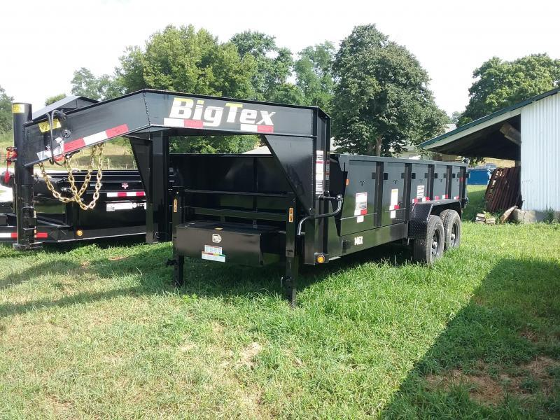 Big Tex 14GX 83X16 Dump Gooseneck Trailer