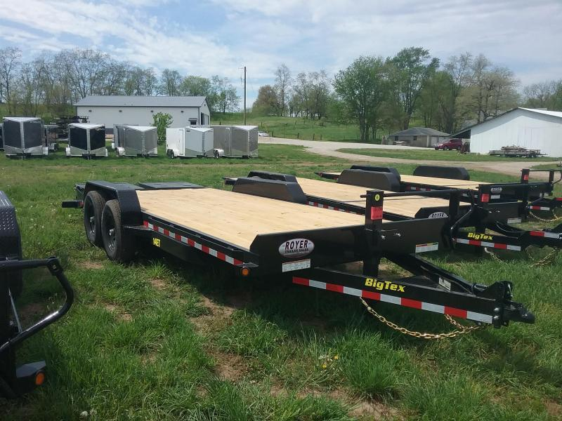 14ET 20 Foot Big Tex Equipment Trailer