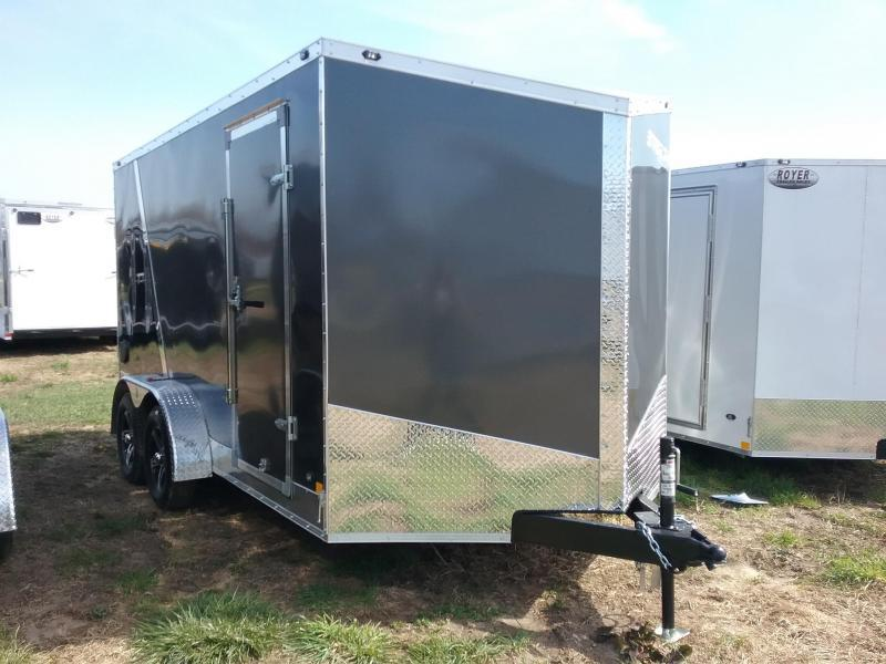 "7X14 (+6"" Extra Interior Height) Stealth Titan Enclosed Cargo Trailer"