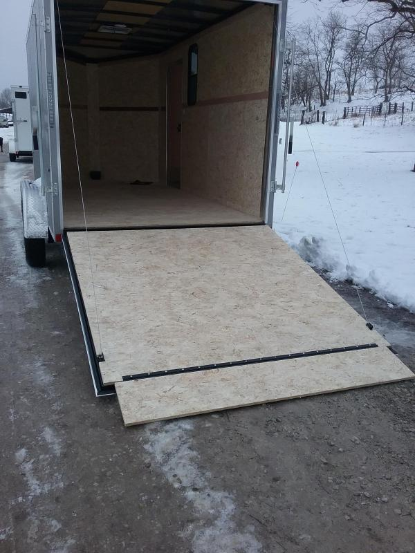 """2019 Formula 7x14 Conquest (+12"""" Additional Height) *Hunters Special* Enclosed Cargo Trailer"""