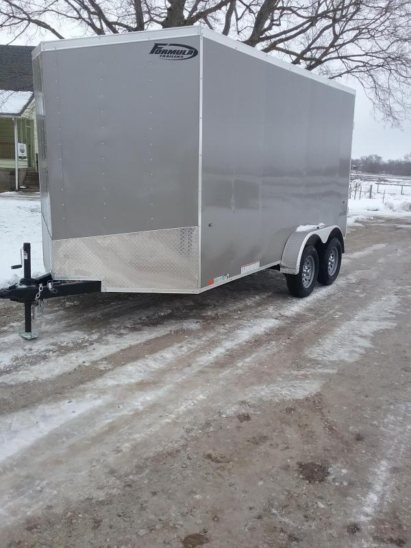 "2019 Formula 7x14 Conquest (+12"" Additional Height) *Hunters Special* Enclosed Cargo Trailer"