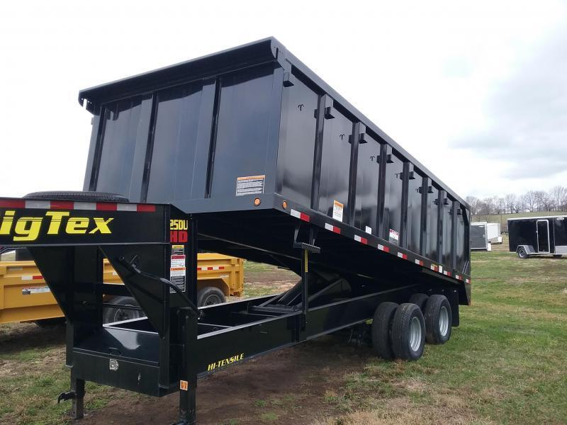 25DU Big Tex Dump Trailer